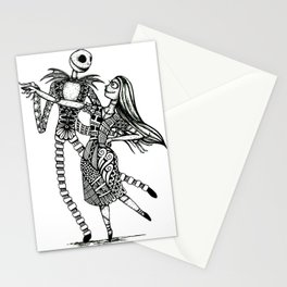 Jack and Sally Stationery Cards