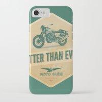 moto iPhone & iPod Cases featuring moto guzzi by Liviu Antonescu