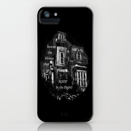 The local creepy house iPhone Case
