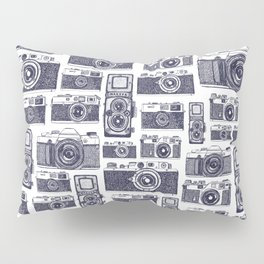 Film Cameras Pillow Sham