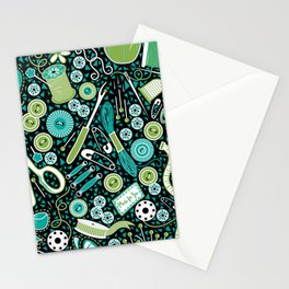 Mosaic Sewing Notions Stationery Cards