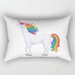 whimsy (rainbow unicorn) Rectangular Pillow