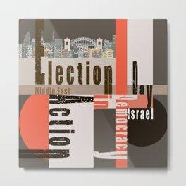 Election Day 8 Metal Print