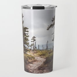 Over the mountains and through the woods Travel Mug