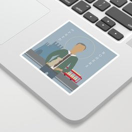 Mr. Rogers Icon Sticker