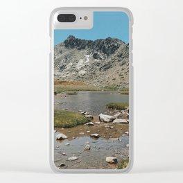 Spanish Sierra Clear iPhone Case