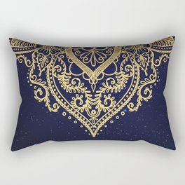 MANDALA IN STARRY NIGHT Rectangular Pillow