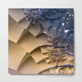 Complex Stairs Metal Print