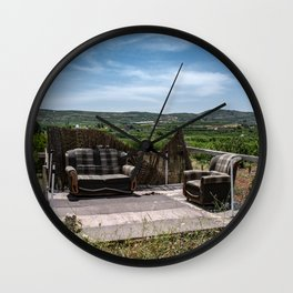 Calm place to relax Wall Clock