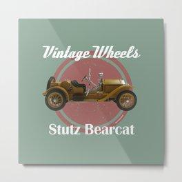 Vintage Wheels - Stutz Bearcat Metal Print