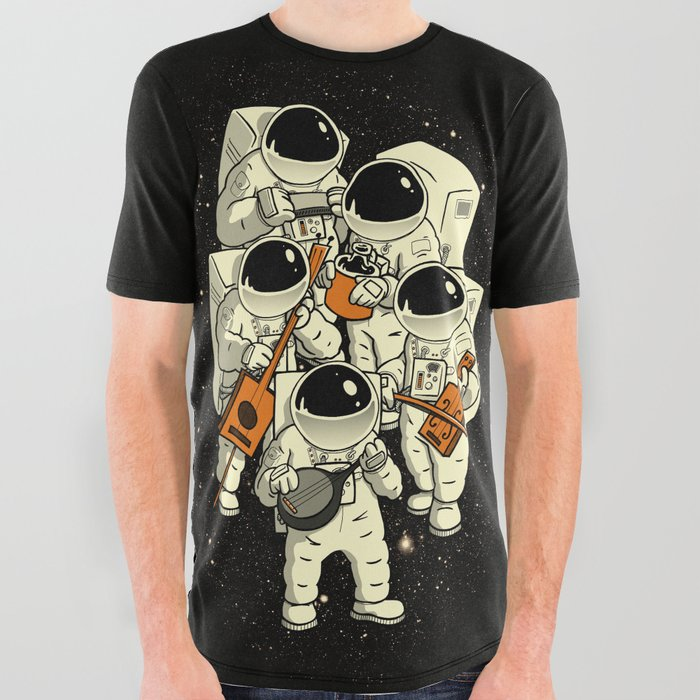 Space Jamboree All Over Graphic Tee
