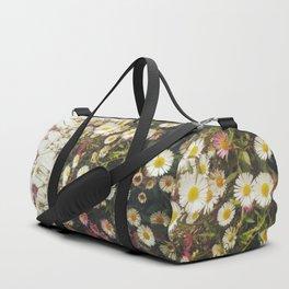 Wall of Daisies Duffle Bag