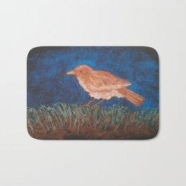 Bird Study Bath Mat