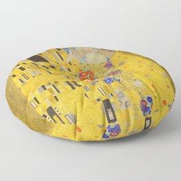 Gustav Klimt The Kiss Detail Floor Pillow