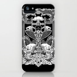 THE POLITICS OF GREED iPhone Case
