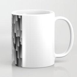 Fringe (Black and White) Coffee Mug