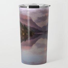 Snowdon Sunset Travel Mug