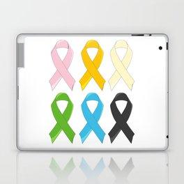 SIx Awareness Ribbons Laptop & iPad Skin
