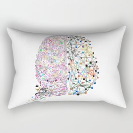 the Brain Rectangular Pillow