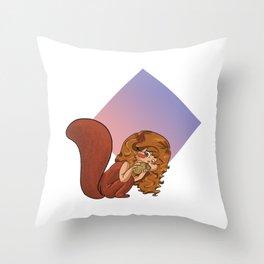 Scoiattolo Throw Pillow