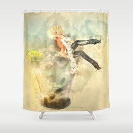 Shaken, not stirred Shower Curtain