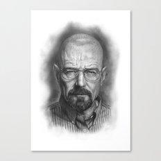 Walter White / Breaking Bad Canvas Print