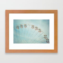The Giant Wheel Framed Art Print