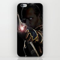 archer iPhone & iPod Skins featuring Archer by Kathryn Loch