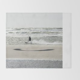 Kite surf 2016  Throw Blanket