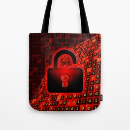 Unprotected data Tote Bag