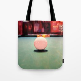 Cue Ball Tote Bag