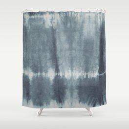 Tye Dye Gray Shower Curtain