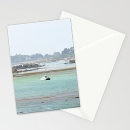 Walking on the shore Stationery Cards