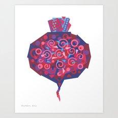 Beet (Betterave) Art Print