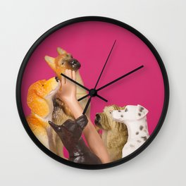 Puppy heaven Wall Clock