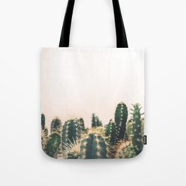 Desert Cactus 3 Tote Bag