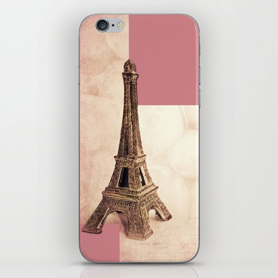 PARIS ~ MON AMOUR iPhone & iPod Skin