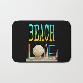 Beach Love Bath Mat
