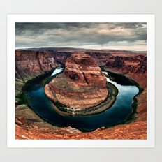 Horseshoe Bend, Arizona Art Print