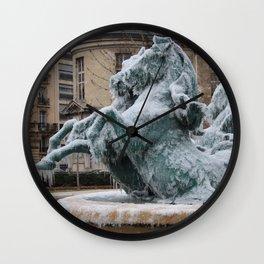 Ice Mares Wall Clock