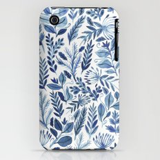 indigo scatter Slim Case iPhone (3g, 3gs)