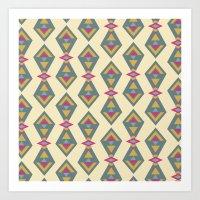 Geo Pattern II Art Print