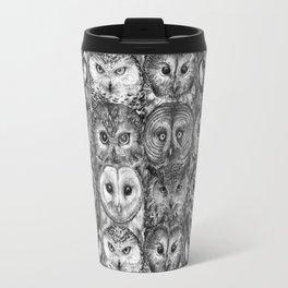 Owl Optics BW Travel Mug
