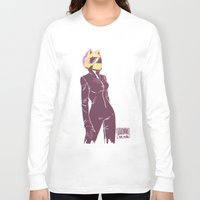 durarara Long Sleeve T-shirts featuring Celty by JohannaTheMad