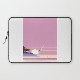 Seagull of morning glow Laptop Sleeve