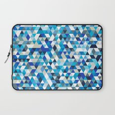 Icy triangles Laptop Sleeve