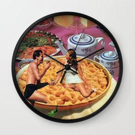 First Date Wall Clock