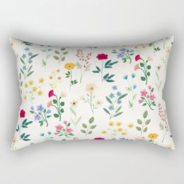 Spring Botanicals Rectangular Pillow