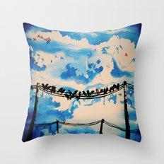 belonging Throw Pillow