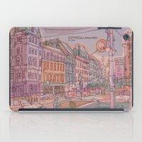 budapest iPad Cases featuring Astoria-Budapest by Zsolt Vidak